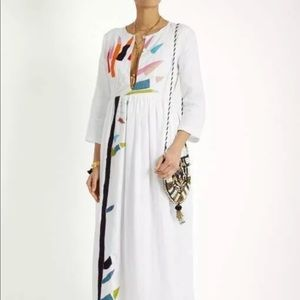 Mara Hoffman Xylophone Linen Embroidered Dress